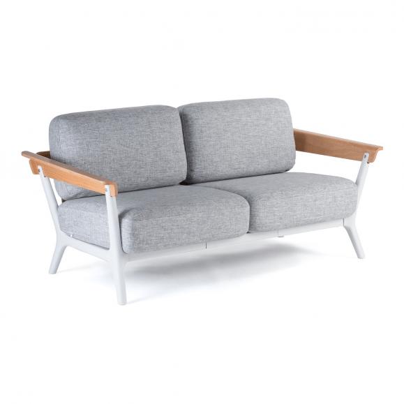 canapé nordique gris blanc bois