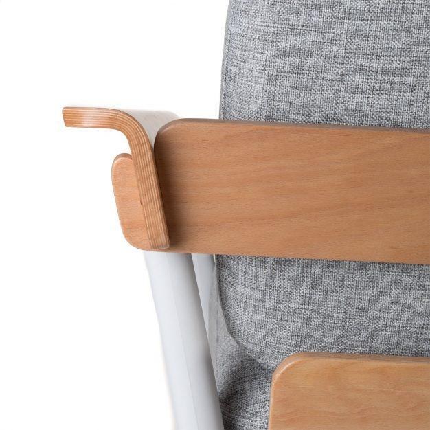 canapé type scandinave confortable gris