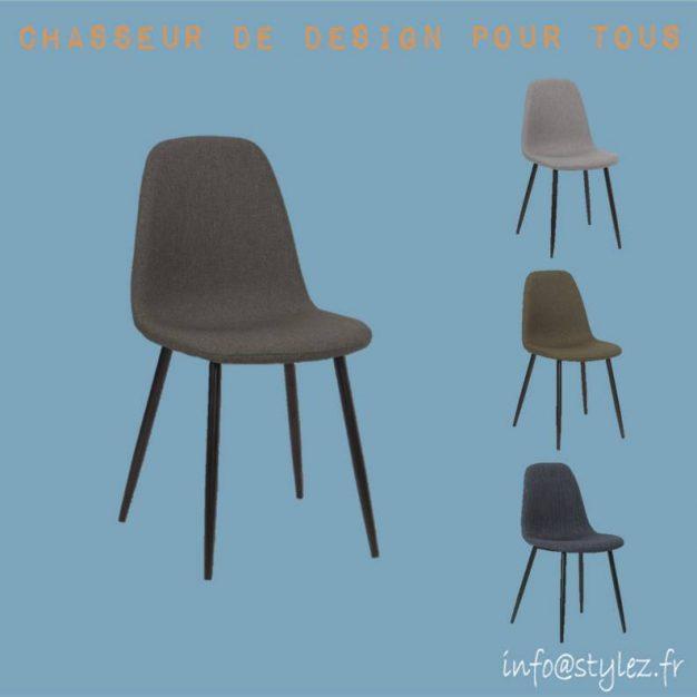 chaise lin qualité design confortable