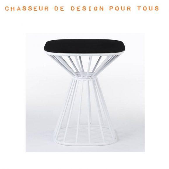 table rayon design noir blanche