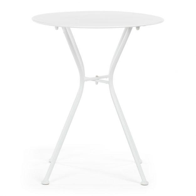 table extérieur intérieur moderne blanche