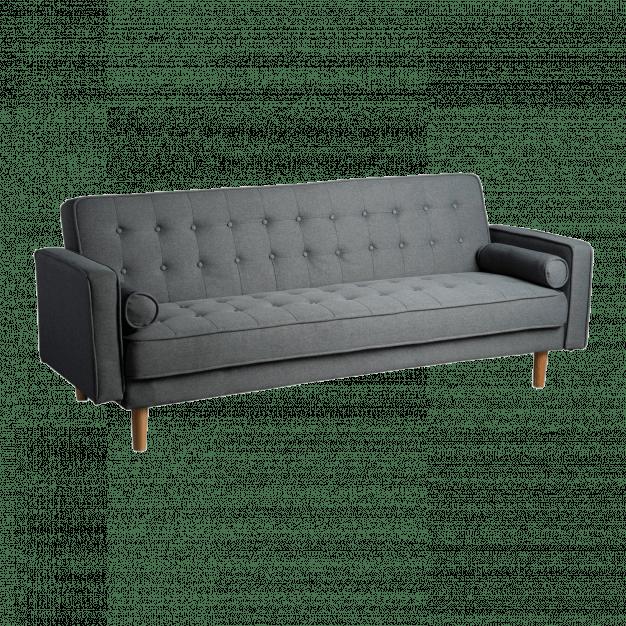 canapé lit capitonné 3 places