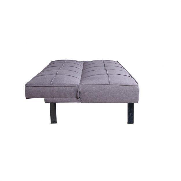 canapé lit design gris urbain