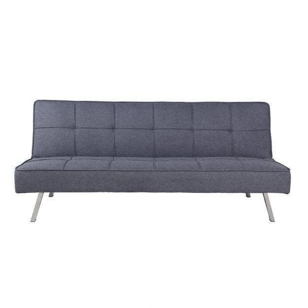 canapé modifiable moderne gris foncé