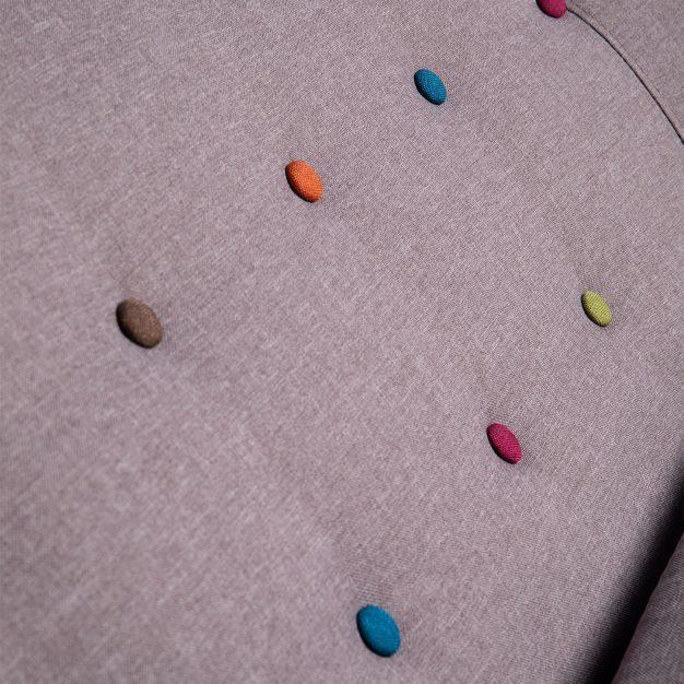 canapé moderne 2 places clair