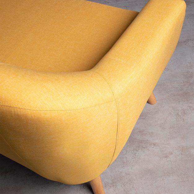 canapé couleur lin style nordique