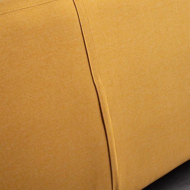 canapé moderne jaune clair nordique