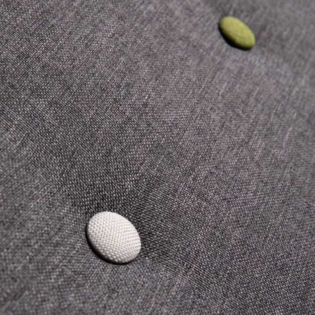 canapé piqué couleurs élégant gris