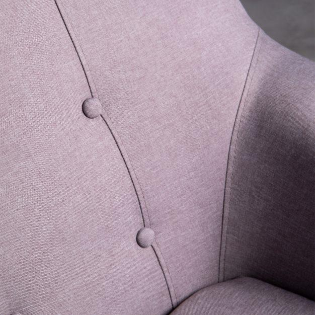 canapé piqué nordique gris clair