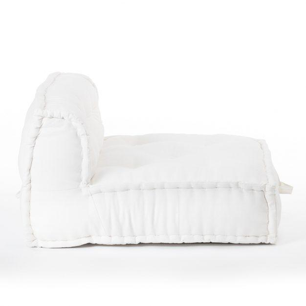 canapé modulable blanc crème design