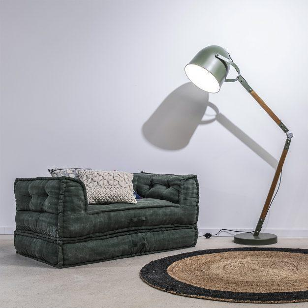 fauteuil modulable vert sapin design