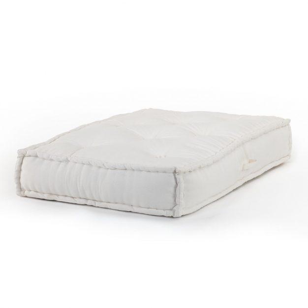 coussin canapé modulable blanc confortable