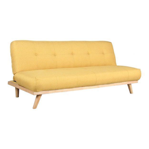 canapé lit safran lin bois