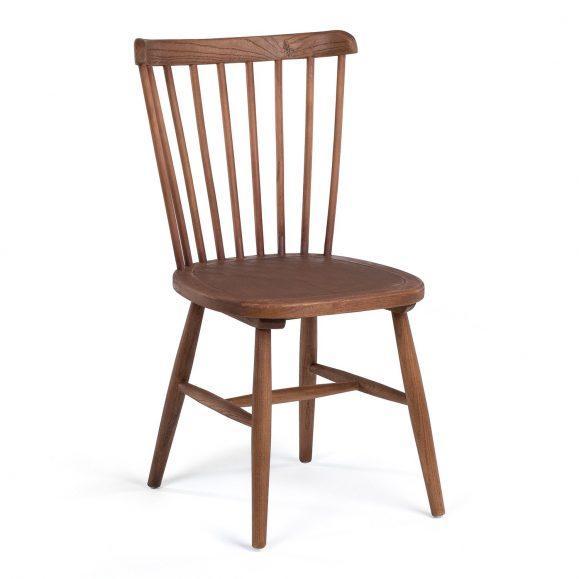 chaise couleur bois naturel dipé