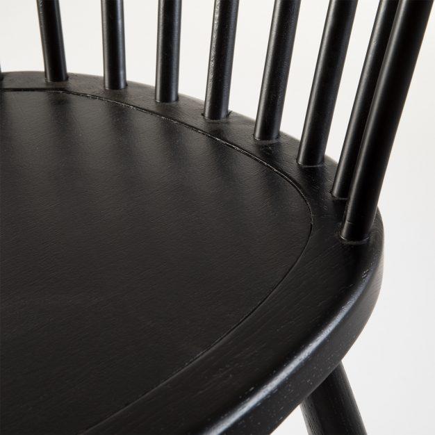 chaise barreaux assise confortable bois