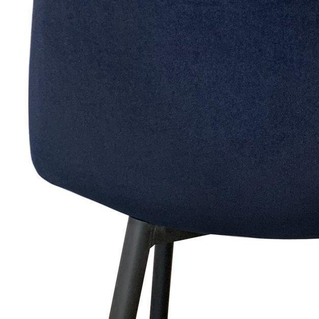 chaise velours haute qualité solide