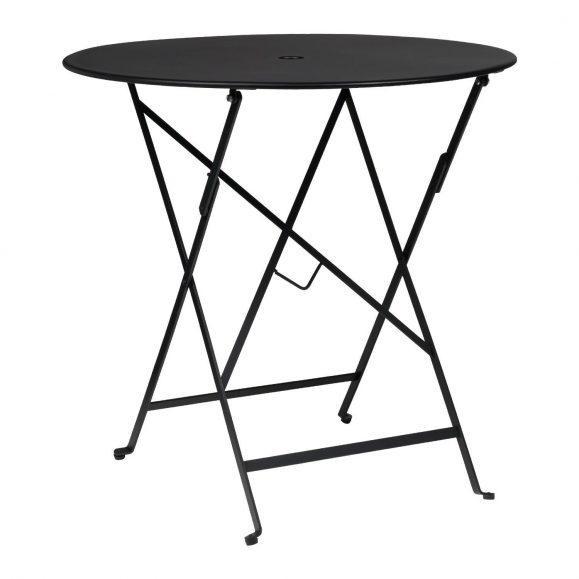 table intérieur noir mate aluminium