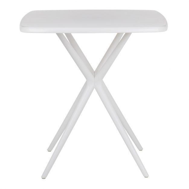 table trépied intérieur extérieur blanche