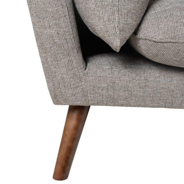 canapé pieds en bois