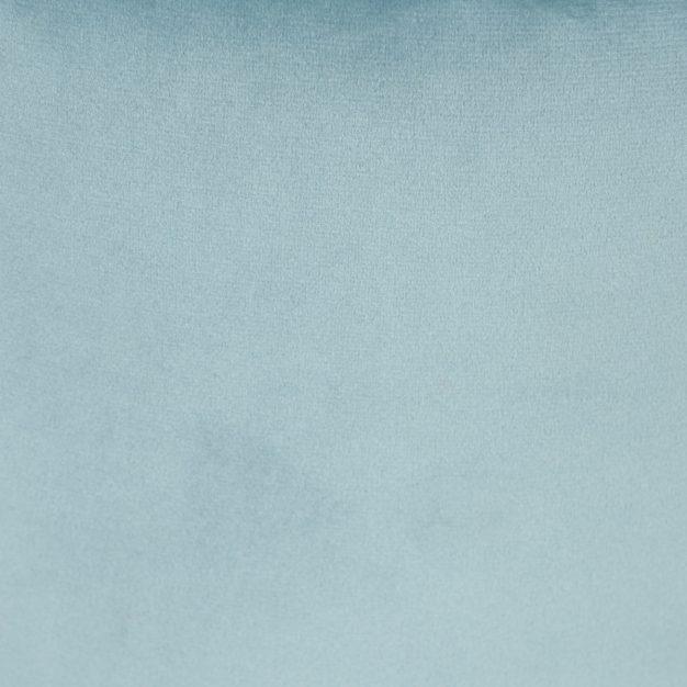 pouf velours bleu ciel
