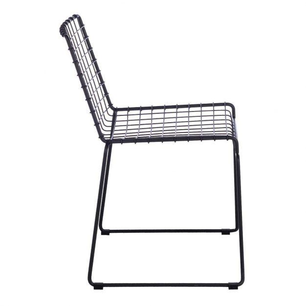 chaise en métal
