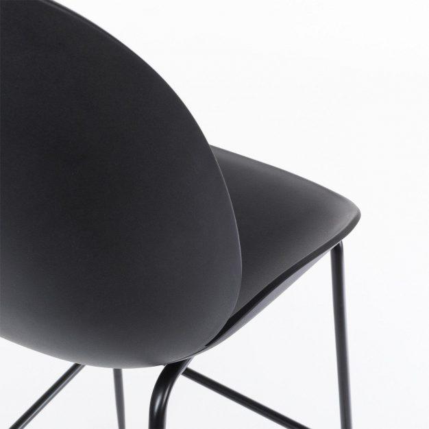détail chaise de bar beetle