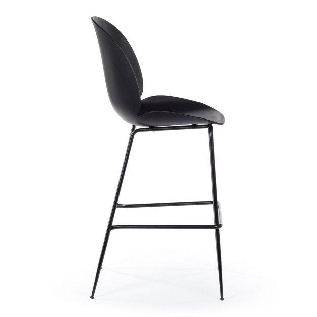 chaise beetle noire