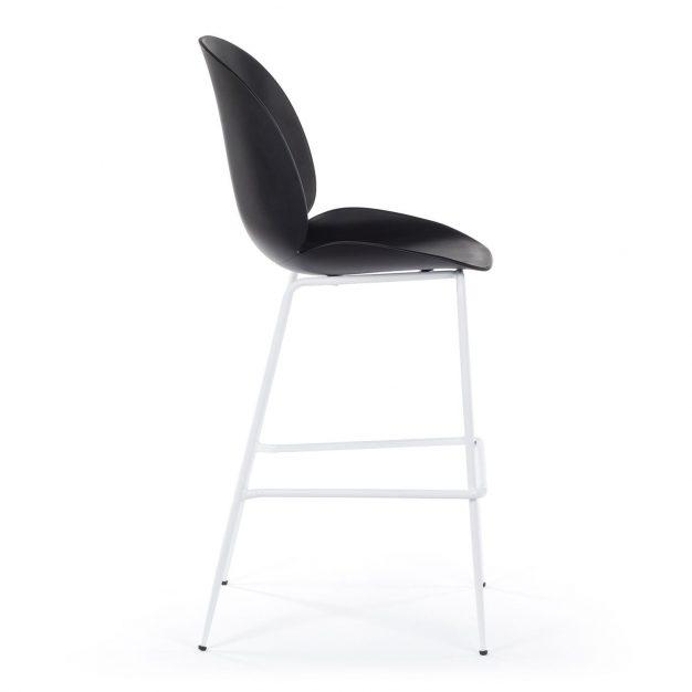 chaise de bar pied blanc