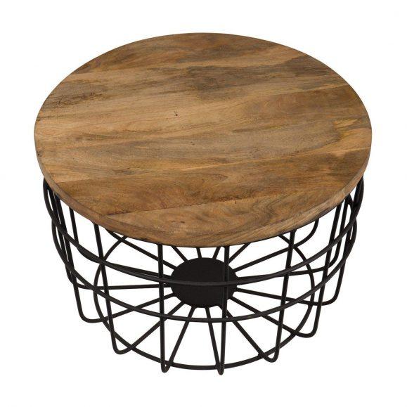 bois table noire