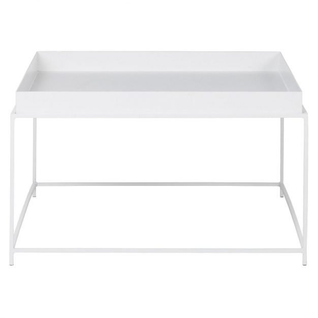 Table blanche 60cm