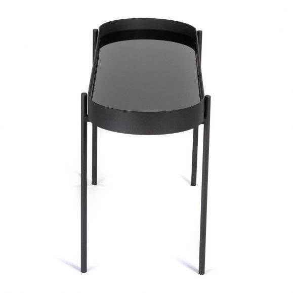 table basse élégante noire
