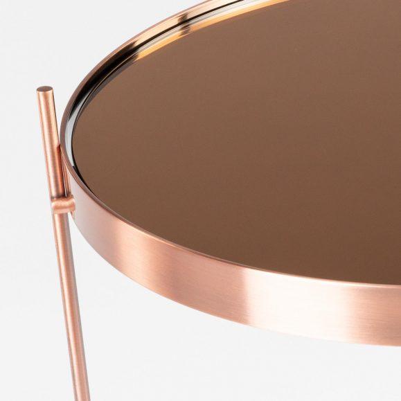 détail miroir rose