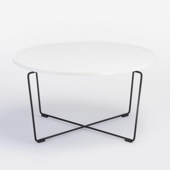 table basse rode blanche