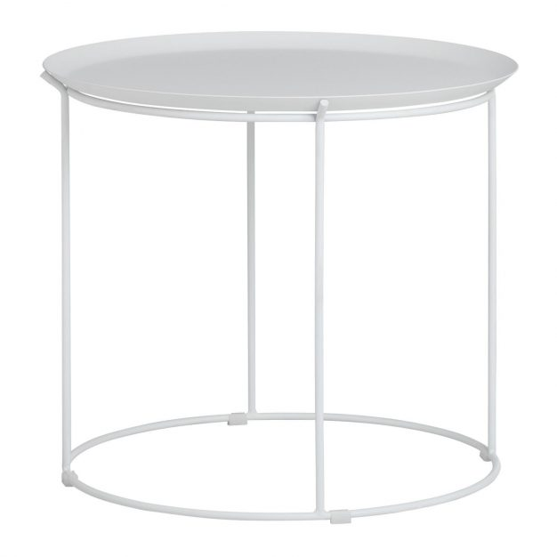 table blanche amovible