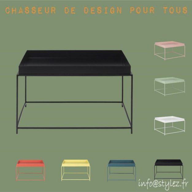 Table basse couleurs 60cm