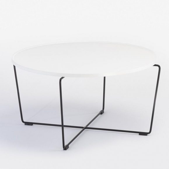 table basse ronde 80cm
