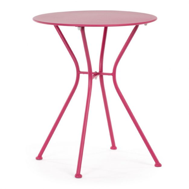 table rose ronde