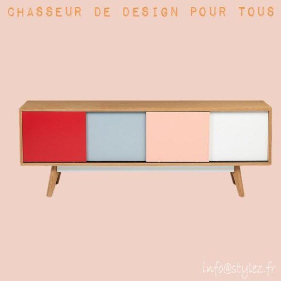 Meuble TV color