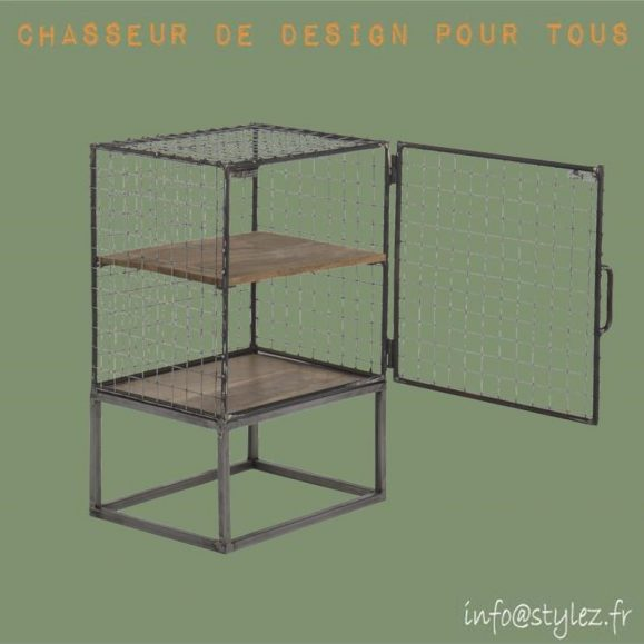 Armoire indus cage