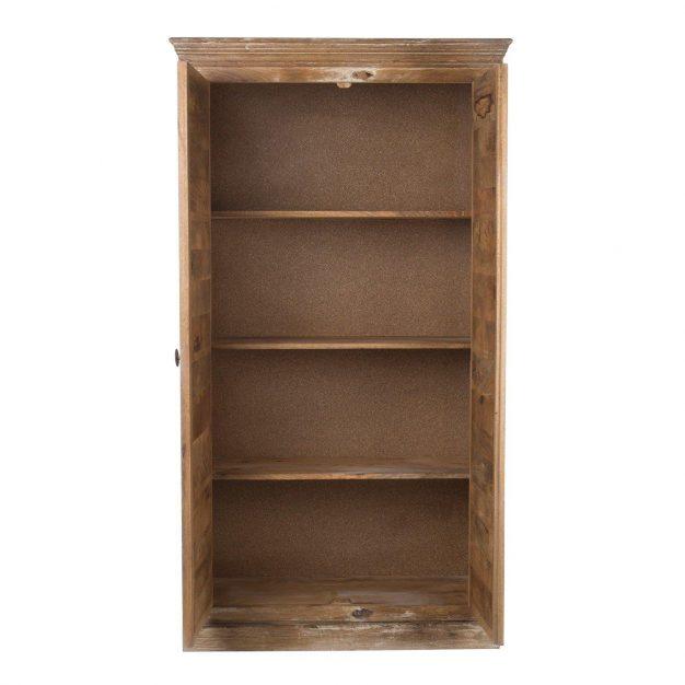 étagère armoire artisanale