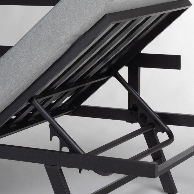 canapé détail gris