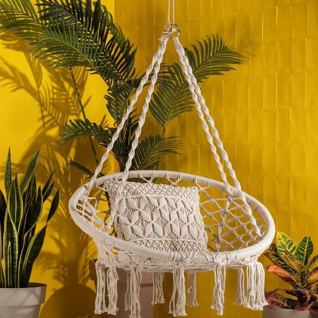 décoration hamac chaise rond
